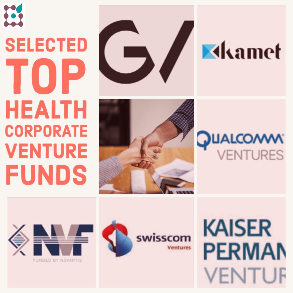 10 top healthcare corporate venturing funds