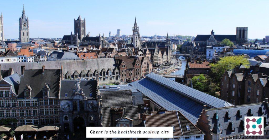 Ghent is the healthtech scaleup city in Belgium