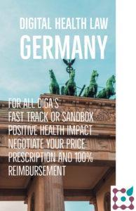 main topicsdigital health law Germany