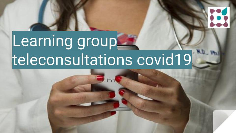 Belgium adopts COVID19-reimbursement for teleconsultations: learning group to support and learn