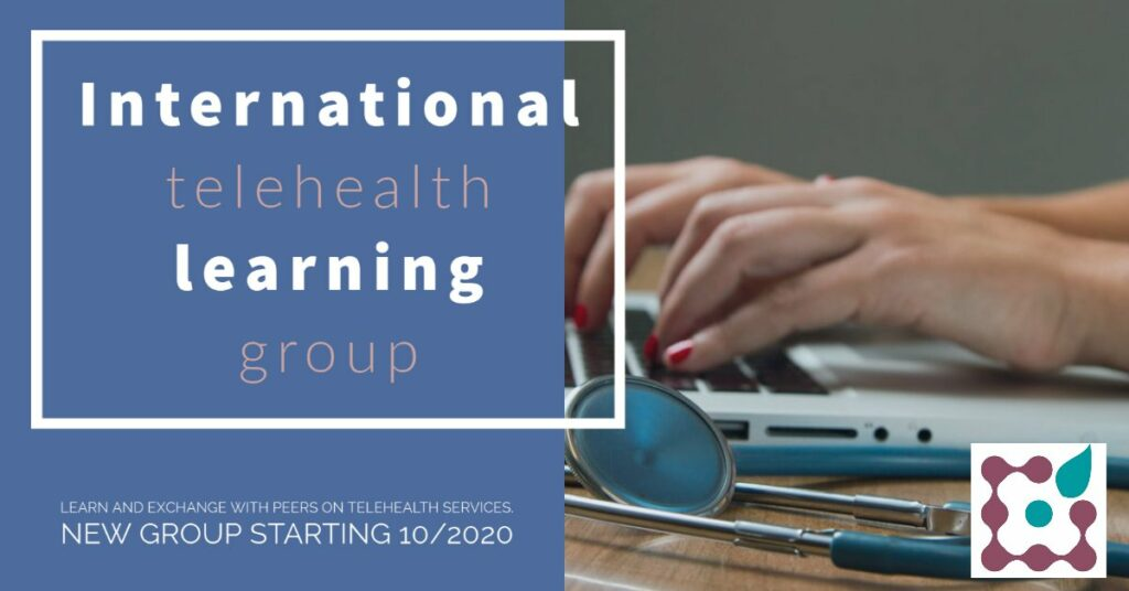 International learning group on telehealth services as of October 2020