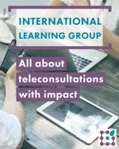 preregister for the international learning group on teleconsultations here